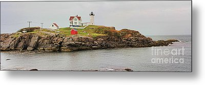 Nubble Lighthouse Metal Print by Jack Schultz