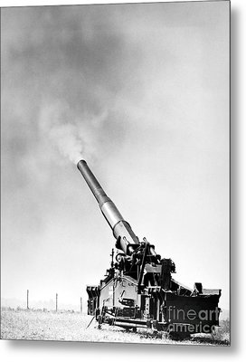 Nuclear Artillery, 1950s Metal Print by Granger