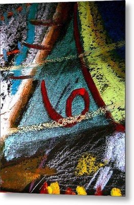 Number Six Metal Print by Clarity Artists