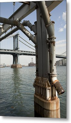 Ny Composition 4 Metal Print