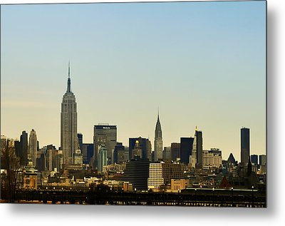 NYC Metal Print by Bill Cannon