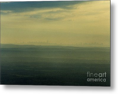 Nyc Skyline Metal Print by Thomas Luca