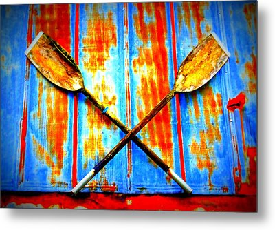 Oar Else Metal Print by Randall Weidner