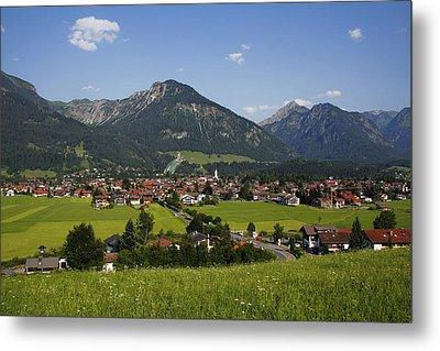 Oberstdorf, Allgäu Alps, Bavaria Metal Print by Hans-Peter Merten