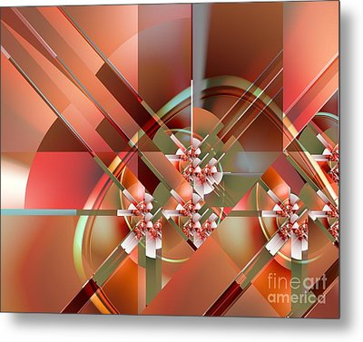Objet Dart Three Metal Print by Michelle H