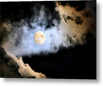 Obscured By Clouds Metal Print by Kristin Elmquist