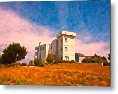 Observation Tower 1 Metal Print by Betsy Knapp