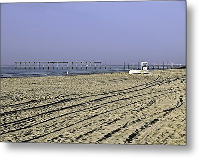 Metal Print featuring the photograph Ocean City Nj The Old Pier by Paul Plaine
