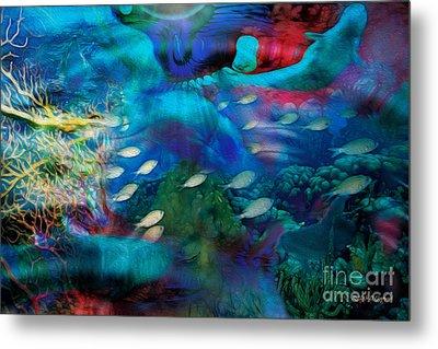 Ocean Dreams Metal Print by Rhonda Strickland