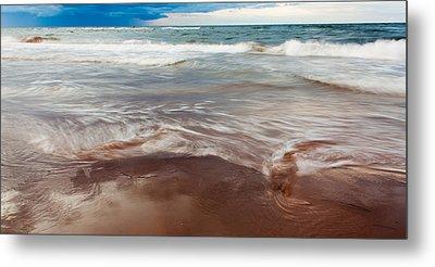 Ocean Panorama Metal Print by Matt Dobson