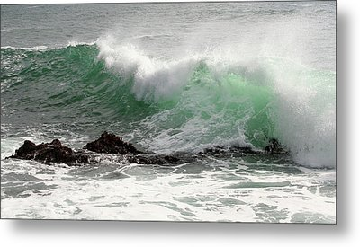 Metal Print featuring the photograph Ocean Spray by Michael Rock