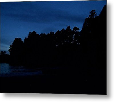Metal Print featuring the photograph Ocean Twilight by Christine Drake