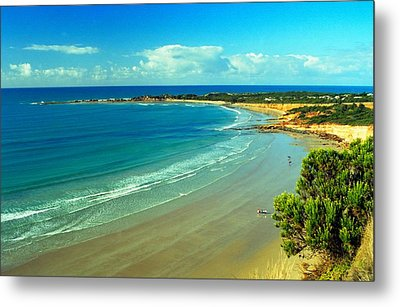 Metal Print featuring the photograph Ocean Walk by Dennis Lundell