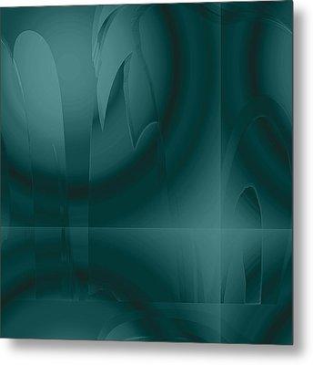Oceans Deep Metal Print
