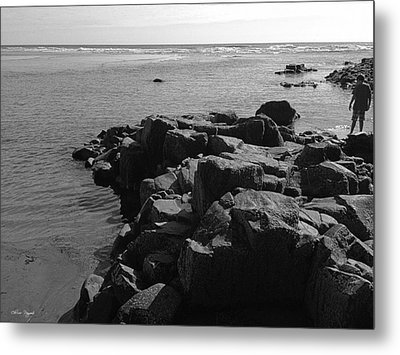 Metal Print featuring the photograph Oceanside Beach by Chriss Pagani