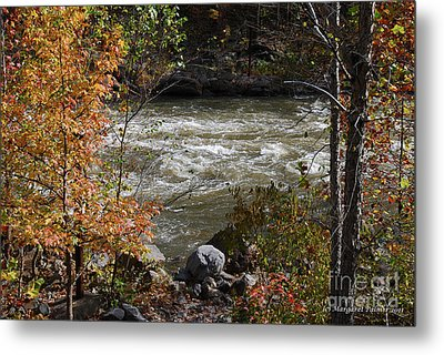 Metal Print featuring the photograph Ocoee River Rapids by Margaret Palmer