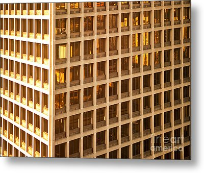 Office Building Metal Print by David Buffington