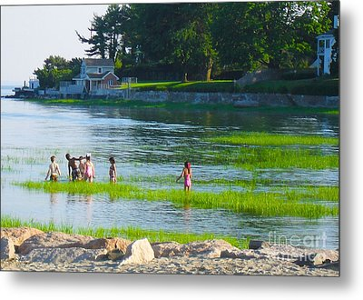 Metal Print featuring the photograph Oh Joy by Beth Saffer