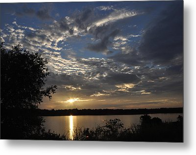 Oklahoma Lake Metal Print