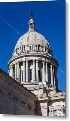 Oklahoma State Capitol Dome Metal Print by Doug Long