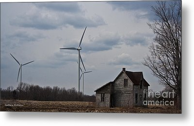 Metal Print featuring the photograph Old And New by Barbara McMahon