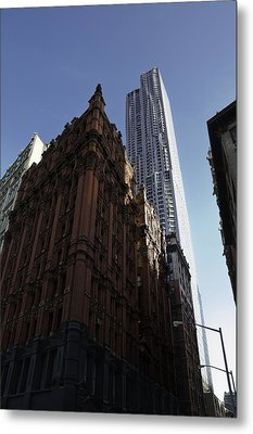 Old And New  Metal Print by Paul Plaine