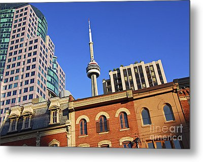 Old And New Toronto Metal Print by Elena Elisseeva