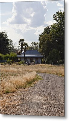 Metal Print featuring the photograph Old Australian Home by Carole Hinding