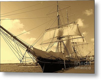 Metal Print featuring the photograph Old Boat by Jasna Gopic