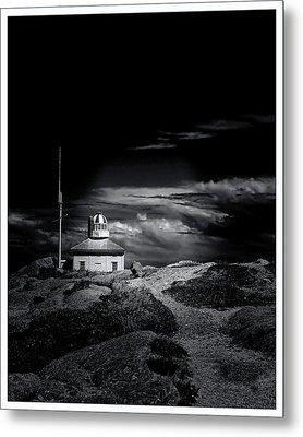 Old Cape Spear Lighthouse - Newfoundland Metal Print by Steve Hurt