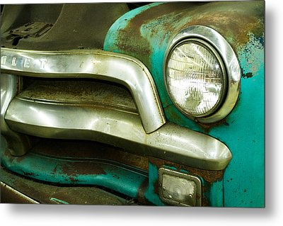 Old Chevy Metal Print