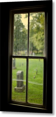 Old Church Window Metal Print by James Massey