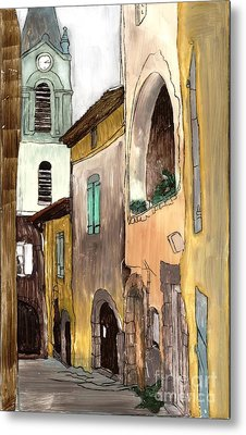 Old City Metal Print by Annemeet Hasidi- van der Leij