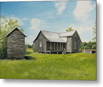 Old Clark Home Metal Print