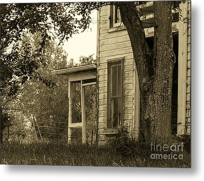 Old Country Porch Metal Print by Joyce Kimble Smith
