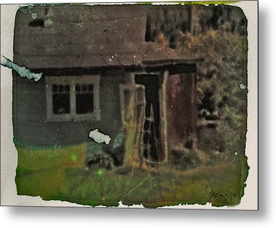 Old Cove Cottage  Metal Print by Janet Kearns