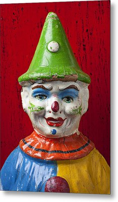 Old Cown Face Metal Print by Garry Gay