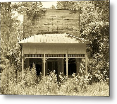Old Dapartment Store Metal Print by Floyd Smith