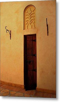 Old Door Metal Print by Radoslav Nedelchev