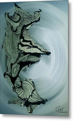 Old Drawing Called Serenity 2   Metal Print by Colette V Hera  Guggenheim