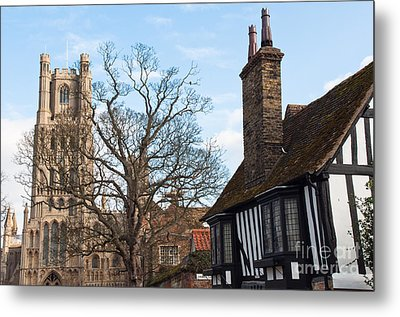 Metal Print featuring the photograph Old English House by Andrew  Michael