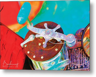 Old Fish Story Metal Print by Robin Lewis