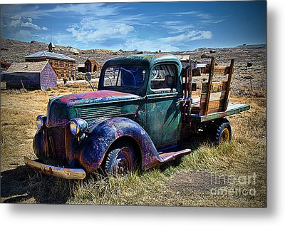 Old Ford V8 Truck Metal Print