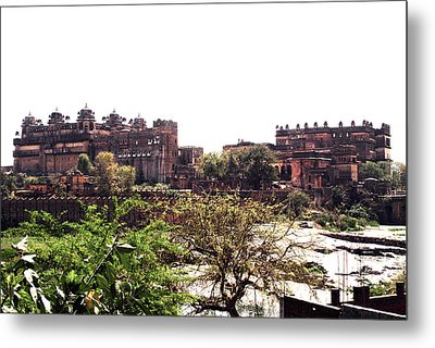 Old Fort In India Metal Print by Sumit Mehndiratta