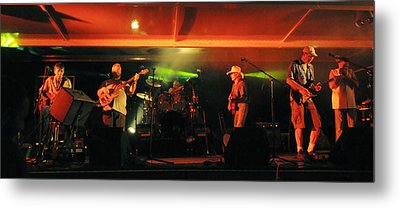 Old Friends Band Reunion Metal Print by Mary Frances