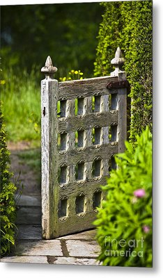Old Garden Entrance Metal Print