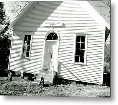 Old Gauley Church Metal Print by Amy Sorrell