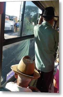 Metal Print featuring the photograph Old Hat by Beto Machado