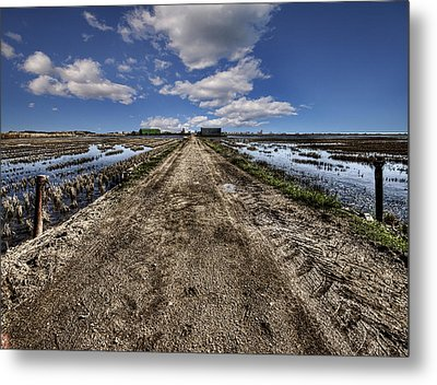 Old Highway Metal Print by Gabriel Calahorra
