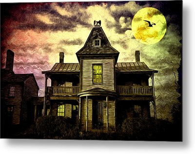 Old House At St Michael's Metal Print by Bill Cannon